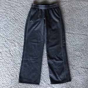 Adidas grey climawarm sweat pants